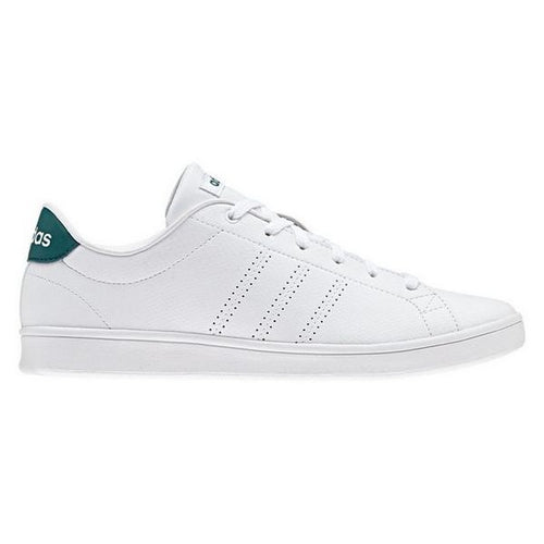 Women's Casual Trainers Adidas Advantage Clean Qt White