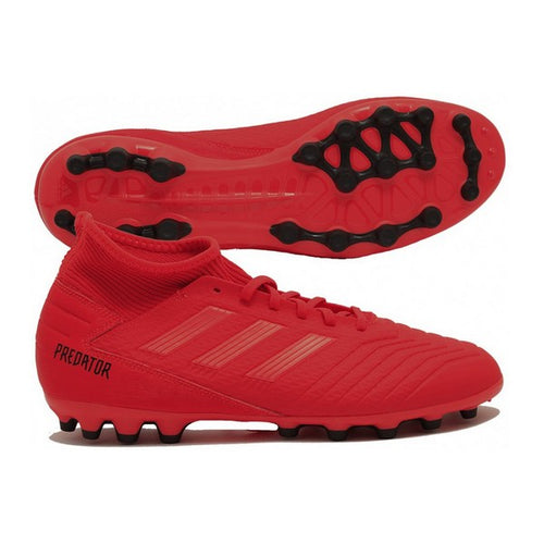 Adult's Football Boots Adidas Predator 19.3 AG Red