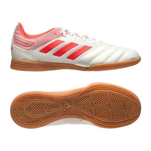 Children's Indoor Football Shoes Adidas Copa 19.3 In White Red