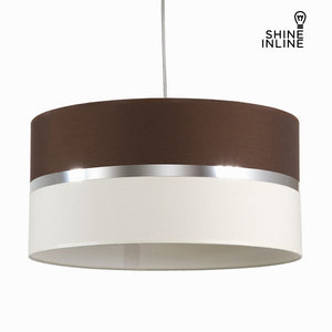 Wenge canvas roof lamp by Shine Inline