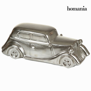 Decorative Figure Ceramic Silver (31 x 12 x 11 cm) by Homania