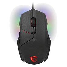 Load image into Gallery viewer, Gaming Mouse MSI Clutch GM60 10800 dpi Black