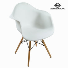 Load image into Gallery viewer, Dining Chair ABS White by Craftenwood