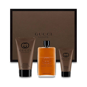Men's Perfume Set Guilty Absolute Gucci (3 pcs)