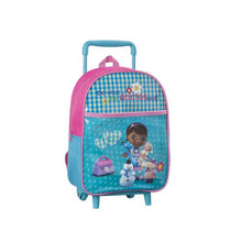 Load image into Gallery viewer, School Rucksack with Wheels Doctora Juguetes 3295 Blue Pink