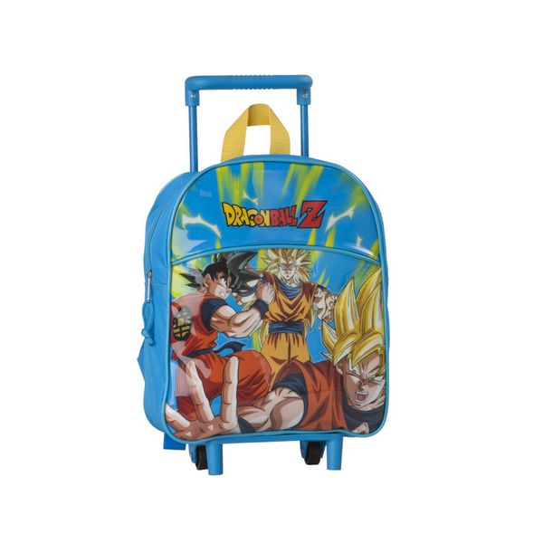 School Rucksack with Wheels Dragon Ball Z 8237 Blue