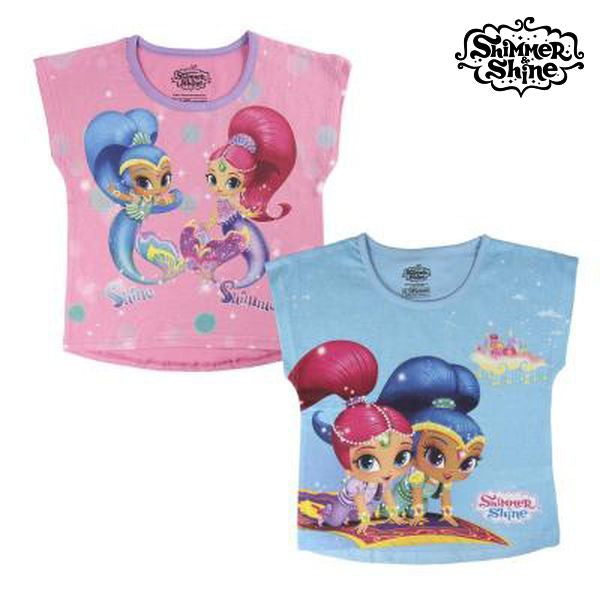 Child's Short Sleeve T-Shirt Shimmer and Shine 72682