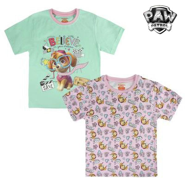 Child's Short Sleeve T-Shirt The Paw Patrol 72679