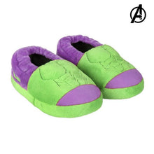 Load image into Gallery viewer, 3D House Slippers Hulk The Avengers 73372 Green