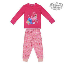 Load image into Gallery viewer, Children's Pyjama Shimmer and Shine 73115 Fuchsia