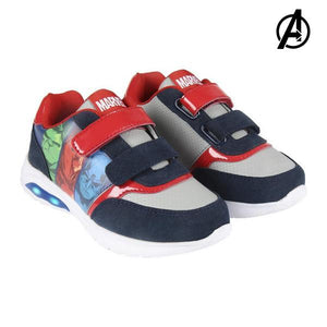 LED Trainers The Avengers 73599 Blue