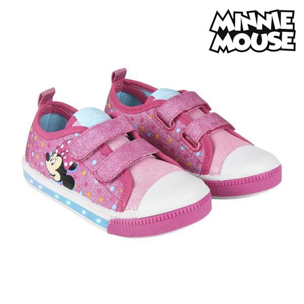 Casual Shoes with LEDs Minnie Mouse 73620 Pink