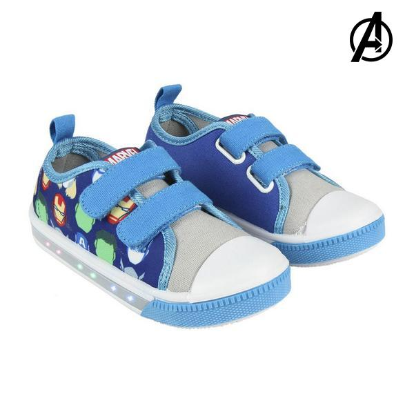 Casual Shoes with LEDs The Avengers 73625 Blue