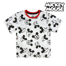 Load image into Gallery viewer, Child's Short Sleeve T-Shirt Mickey Mouse 73485
