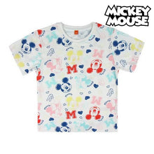 Load image into Gallery viewer, Child's Short Sleeve T-Shirt Mickey Mouse 73717