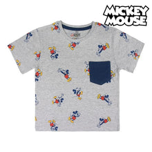 Load image into Gallery viewer, Child's Short Sleeve T-Shirt Mickey Mouse 73722