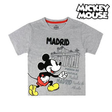 Load image into Gallery viewer, Child's Short Sleeve T-Shirt Madrid Mickey Mouse 73489