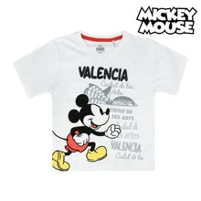 Load image into Gallery viewer, Child's Short Sleeve T-Shirt Valencia Mickey Mouse 73489
