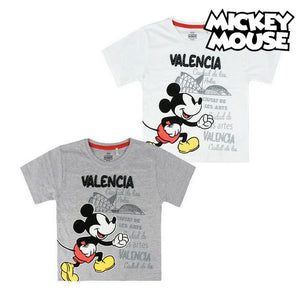 Child's Short Sleeve T-Shirt Valencia Mickey Mouse 73489
