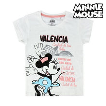 Load image into Gallery viewer, Child's Short Sleeve T-Shirt Valencia Minnie Mouse 73489