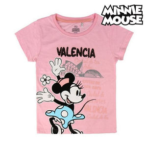 Child's Short Sleeve T-Shirt Valencia Minnie Mouse 73489