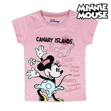Load image into Gallery viewer, Child's Short Sleeve T-Shirt Canary Islands Minnie Mouse 73489