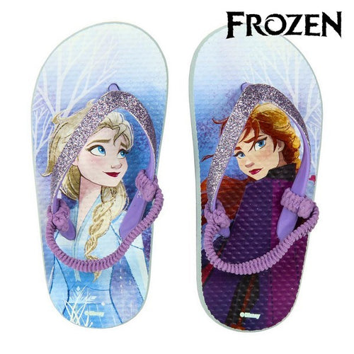 Flip Flops for Children Frozen Lilac