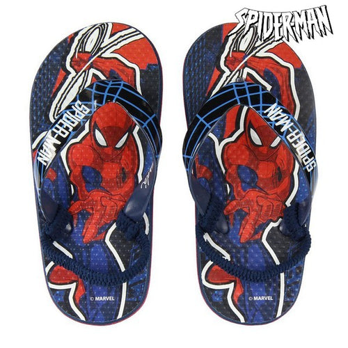 Flip Flops for Children Spiderman Red