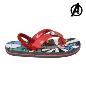 Flip Flops for Children The Avengers Red