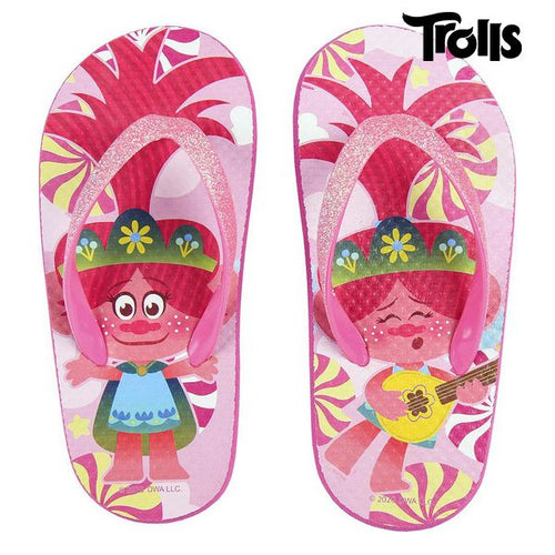 Flip Flops for Children Trolls Fuchsia