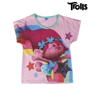 Child's Short Sleeve T-Shirt Trolls 71962