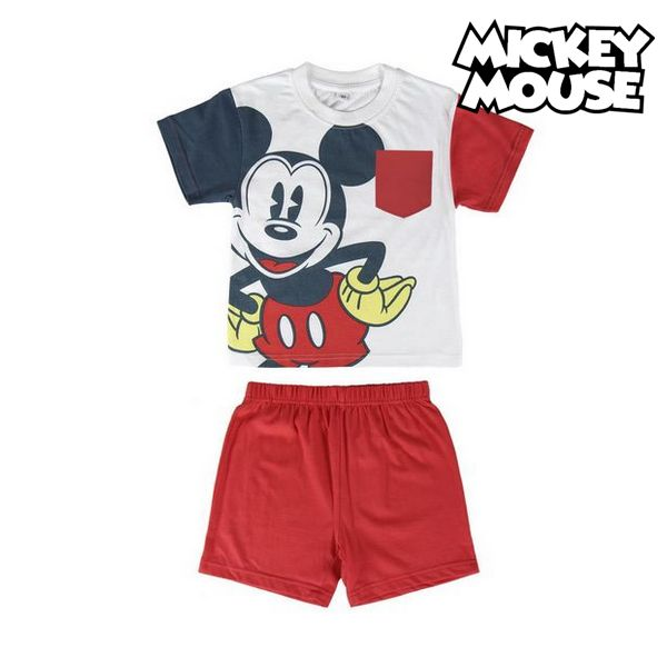 Summer Pyjama Mickey Mouse 71979 Red