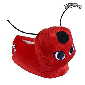 3D House Slippers Lady Bug 72729