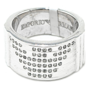 Ladies' Ring Armani EG203250 Silver