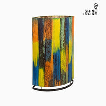 Load image into Gallery viewer, Lamp Multicolour Banana leaf (19 x 34 x 54 cm) by Shine Inline