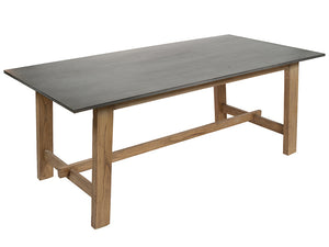 Dining Table (200 x 100 x 78 cm) Mindi wood Mdf