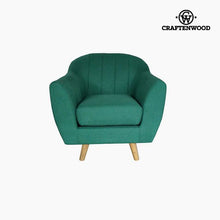 Load image into Gallery viewer, Armchair Polyester Green (83 x 83 x 83 cm) by Craftenwood