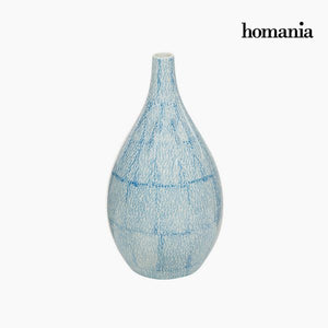 Vase Stoneware (18 x 18 x 33 cm) - Pure Crystal Deco Collection by Homania