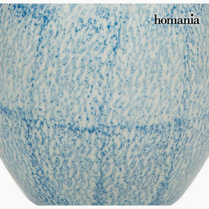 Vase Stoneware (17 x 17 x 25 cm) - Pure Crystal Deco Collection by Homania