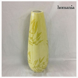 Vase Stoneware (11 x 11 x 32 cm) - Pure Crystal Deco Collection by Homania