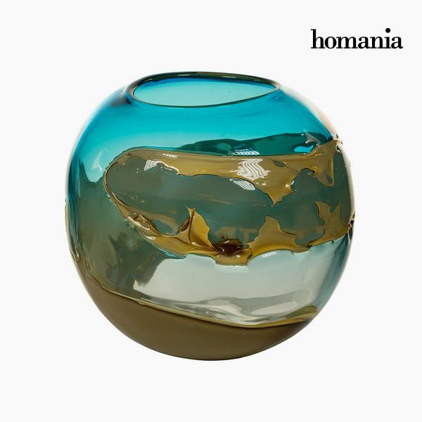 Vase Crystal (26 x 26 x 23 cm) - Pure Crystal Deco Collection by Homania