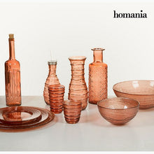 Load image into Gallery viewer, Vase made from recycled glass (18 x 18 x 19 cm) - Pure Crystal Deco Collection by Homania