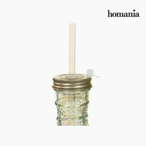 Bottle from recycled glass - Pure Crystal Deco Collection by Homania