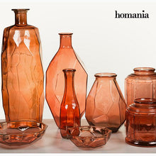 Load image into Gallery viewer, Vase made from recycled glass (13 x 13 x 40 cm) - Pure Crystal Deco Collection by Homania