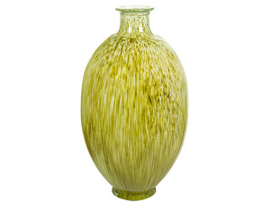 Vase made from recycled glass (25 x 25 x 40 cm) - Pure Crystal Deco Collection