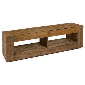 TV Table Recycled wood (210 X 48 x 60 cm)