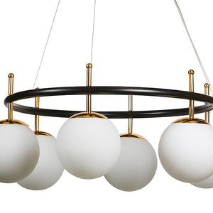 Ceiling Light Painted iron (64 X 64 x 95 cm)