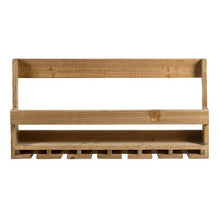 Load image into Gallery viewer, Bottle rack Fir wood (80 X 11 x 40 cm)