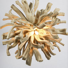 Load image into Gallery viewer, Ceiling Light Wood (70 X 70 x 70 cm)