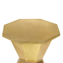 Load image into Gallery viewer, Side Table Golden Iron (44 x 44 x 51 cm)